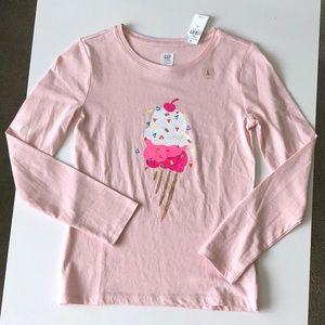 GAP girl's long sleeve t-shirt!!